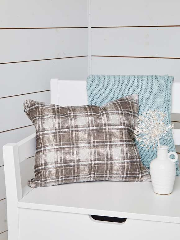 Nordic Plaid Cushion - 50x40