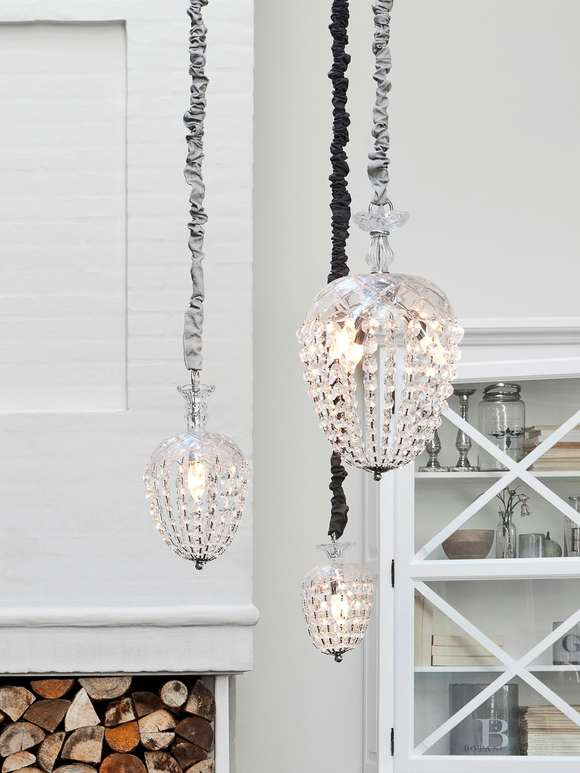 Scandinavian Glass Chandeliers
