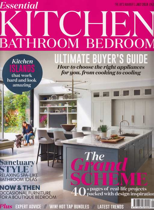 Nordic House featured in Essential Kitchen Bathroom Bedroom Magazine