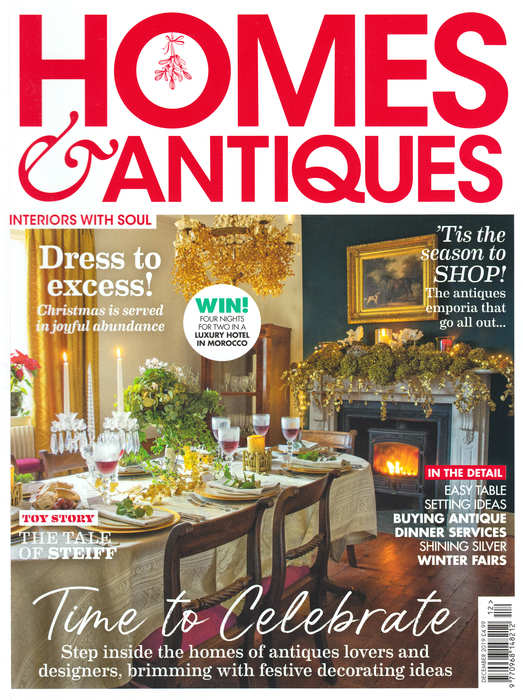 Nordic House featured in Homes and Antiques