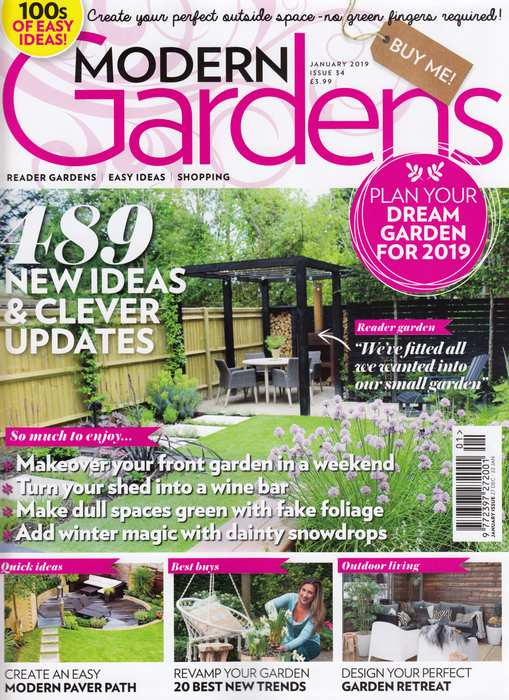 Nordic House featured in Modern Gardens