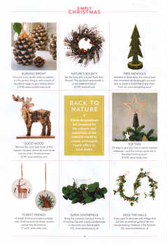 Nordic House featured in Simply Christmas