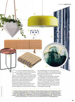 Nordic House featured in The Simple Things