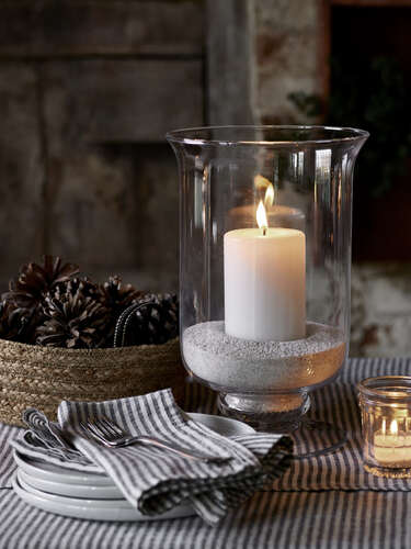Stainless Steel Lanterns Tall Candle Lanterns
