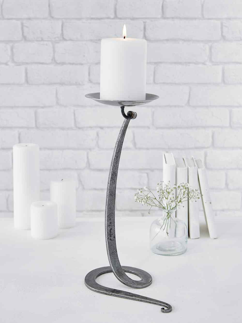 975a8cf89a Pillar Candle Holder | Fireplace Candle Holder