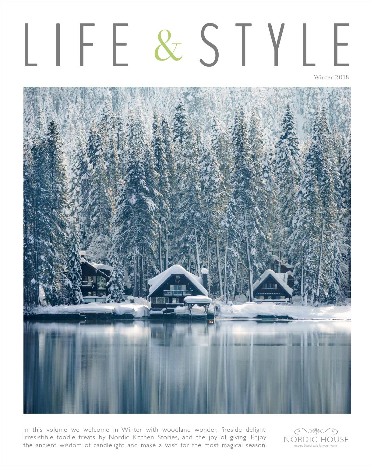 Request your copy of our beautiful winter 2018 magazine