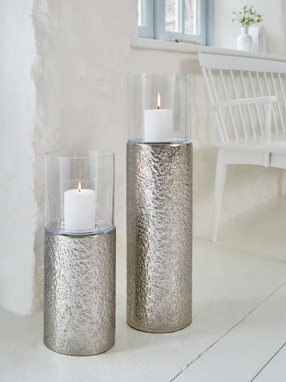Stainless Lanterns Indoor Candle Lanterns Hurricane Lamps
