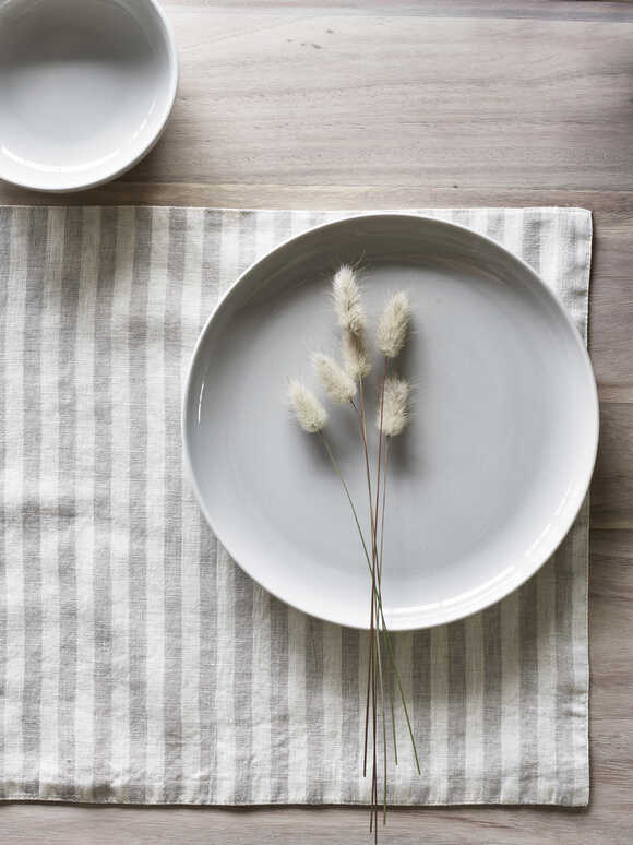 Natural Stripe Placemats