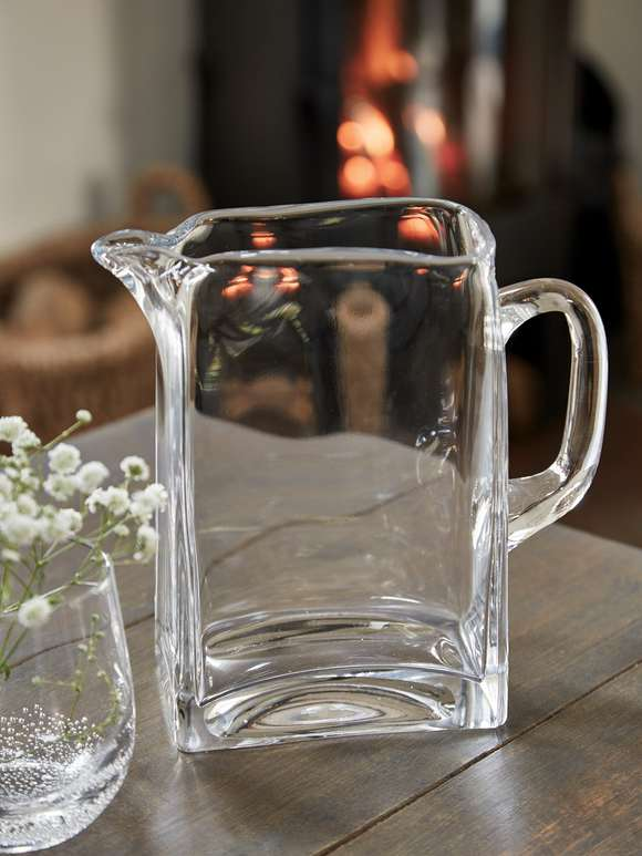 Square Glass Carafe
