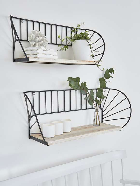 Architectural Wall Shelf Set