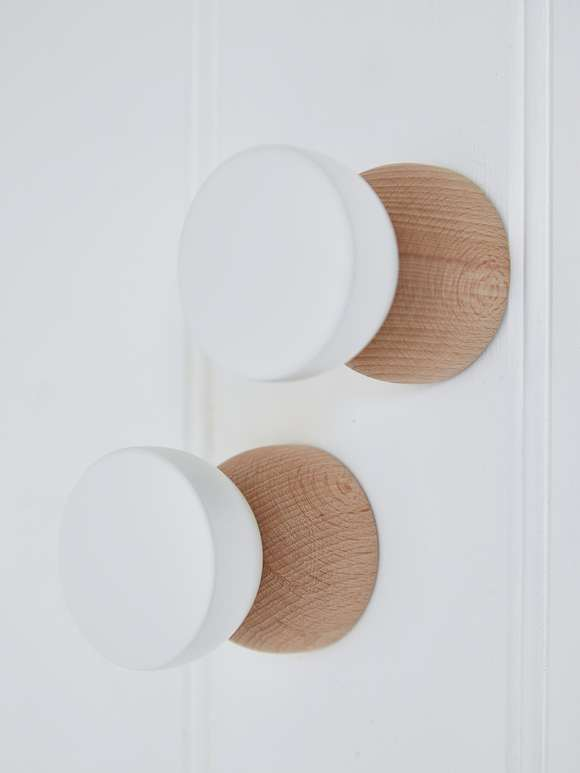 Contemporary Wall Hanger - White