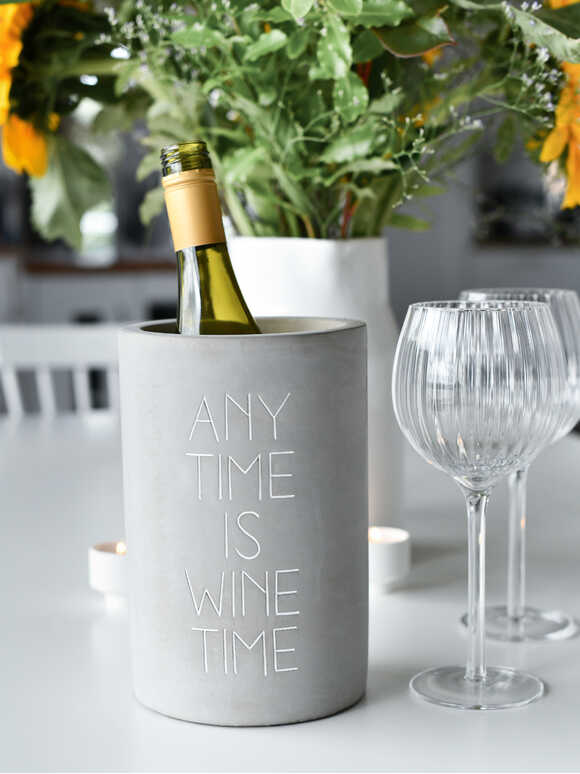 Concrete Wine Cooler - Anytime