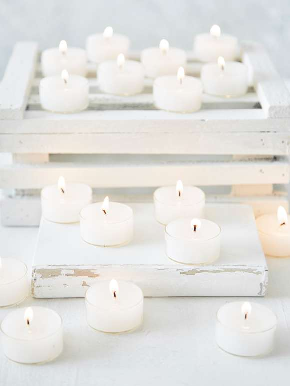 Clear Cup Tealights
