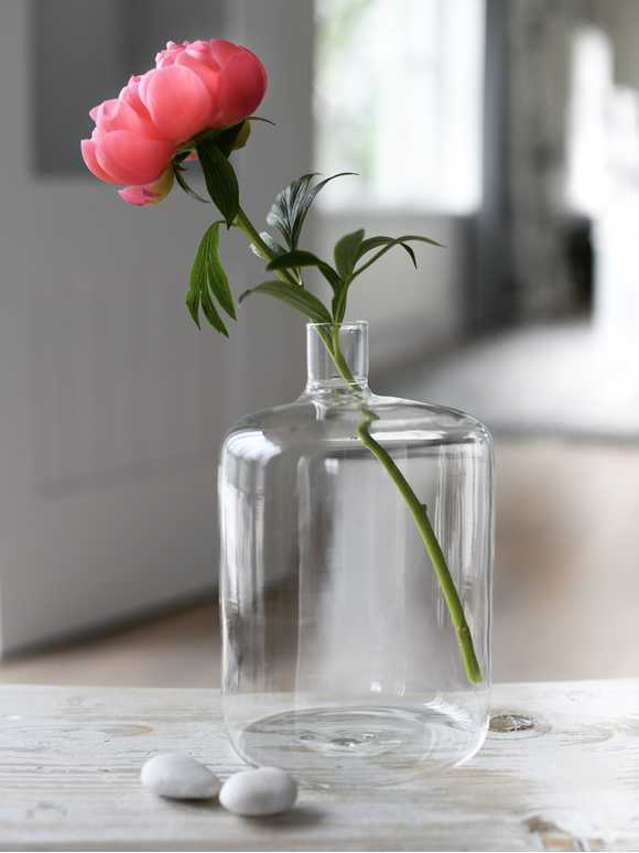Recycled Apothecary Vase