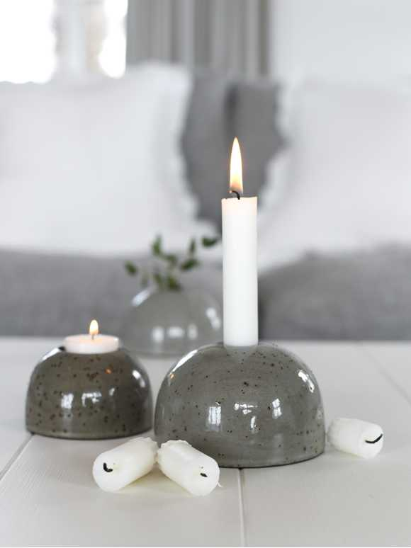 Sten Candle Holders