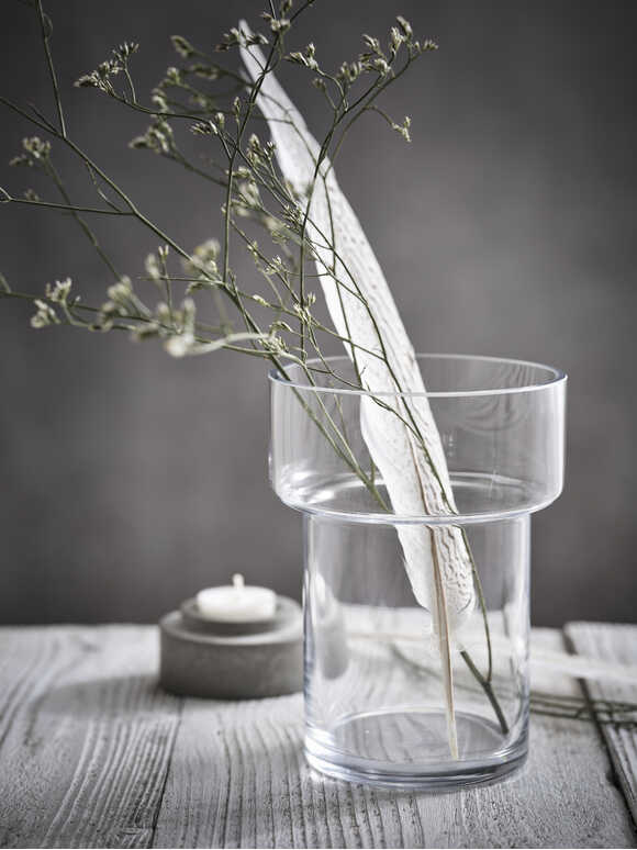 Arctic Glass Vase