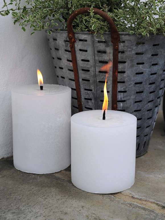 Outdoor Garden Candles
