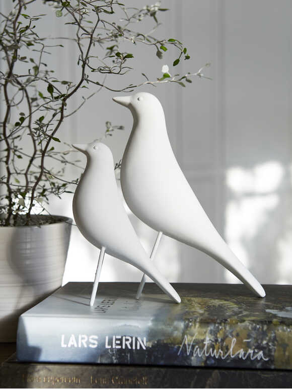 White Porcelain Birds