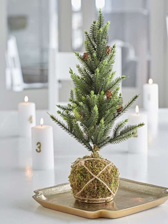 Faux Pine Christmas Tree