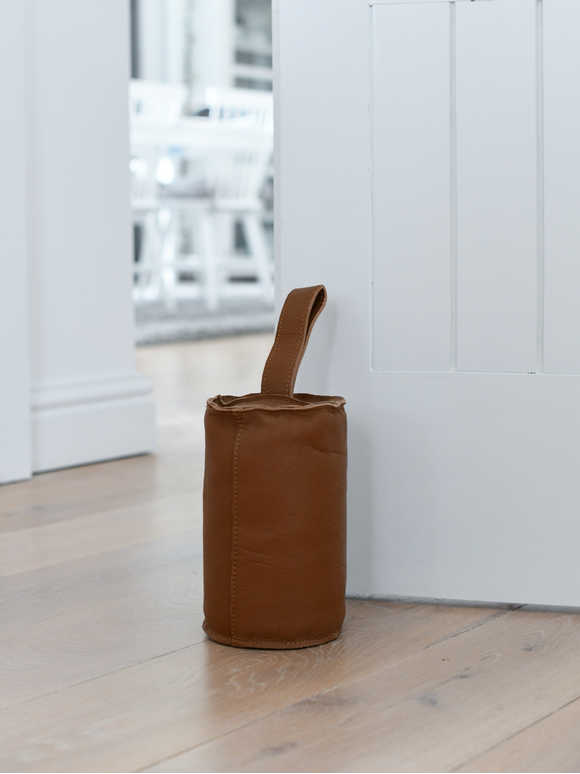 Luxe Leather Door Stop
