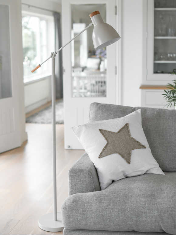 Chalk White Floor Lamp