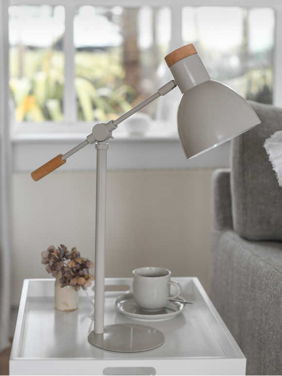 Chalk White Table Lamp