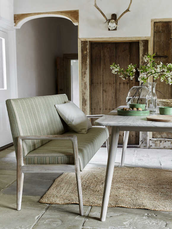 Sundby High Back Bench - Living Spaces