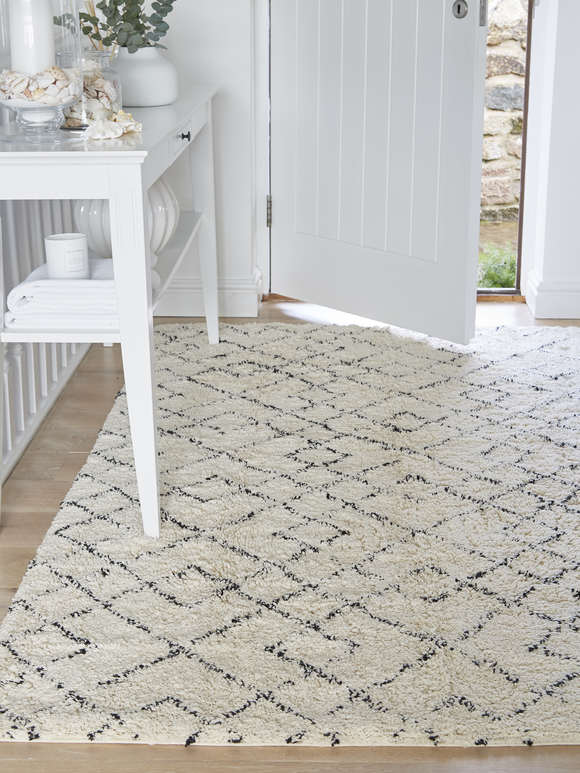 Abstract Diamond Rug