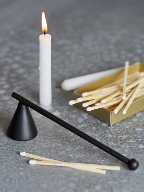 Black Candle Snuffer
