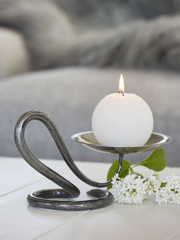Elegant Artisan Candle Holder