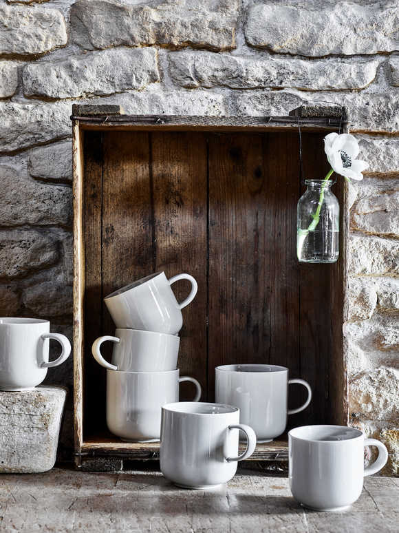Artisan Grey Mugs