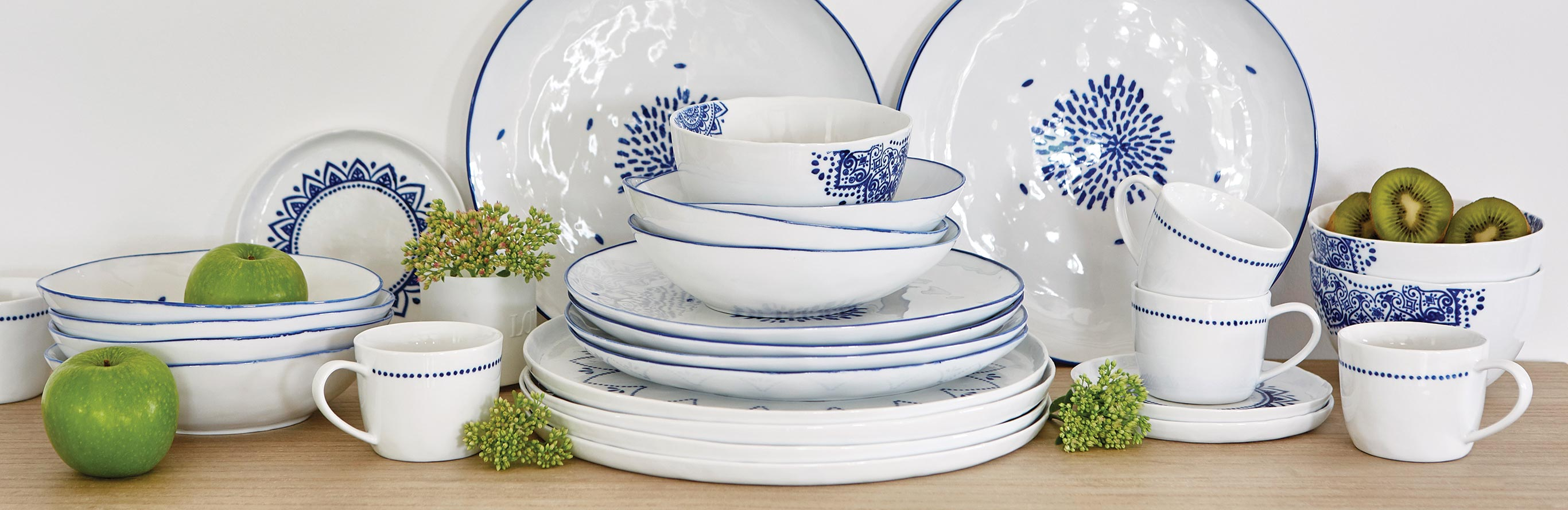 Nordic House  |  Blue and white porcelain