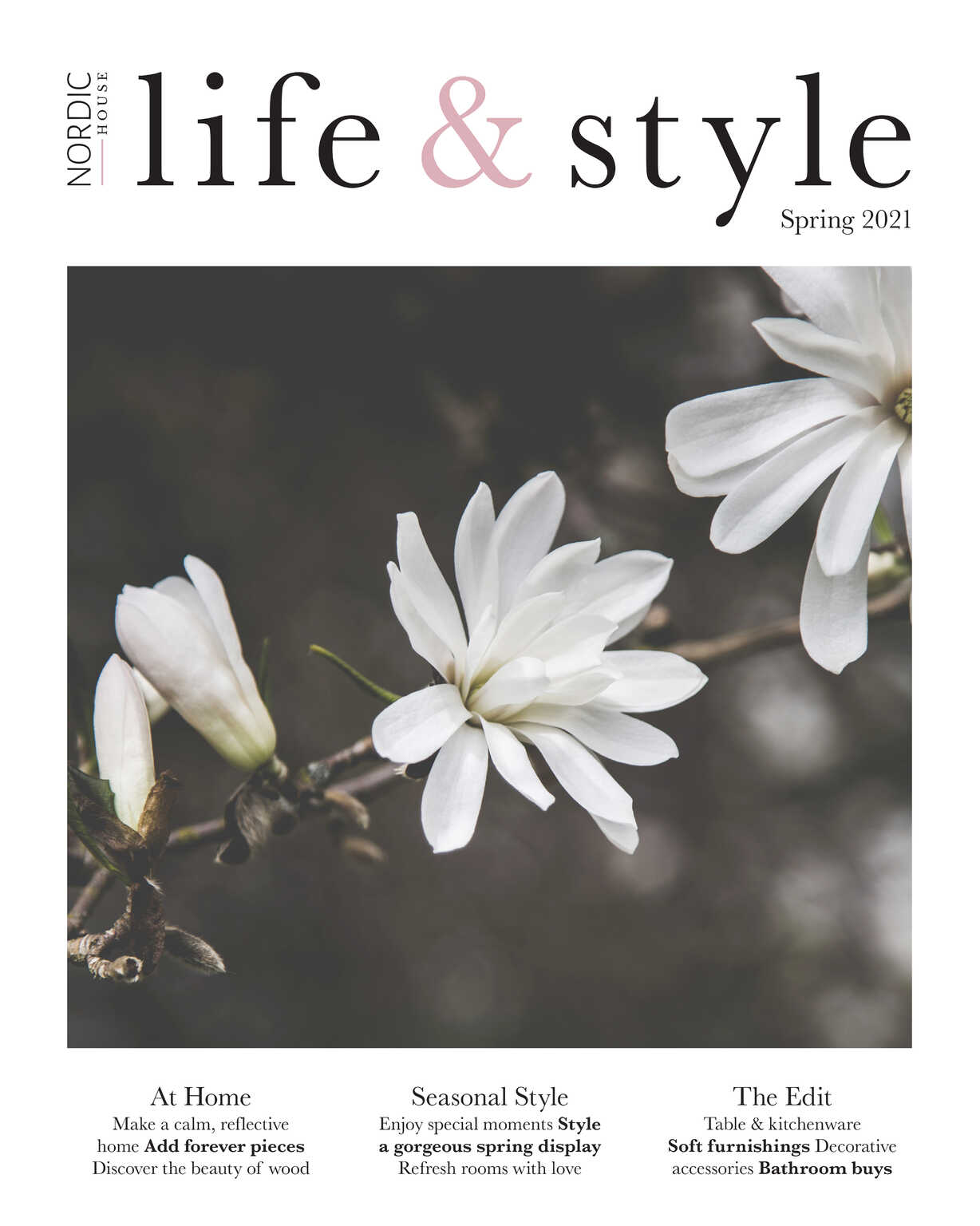 Request your copy of our beautiful spring magazine