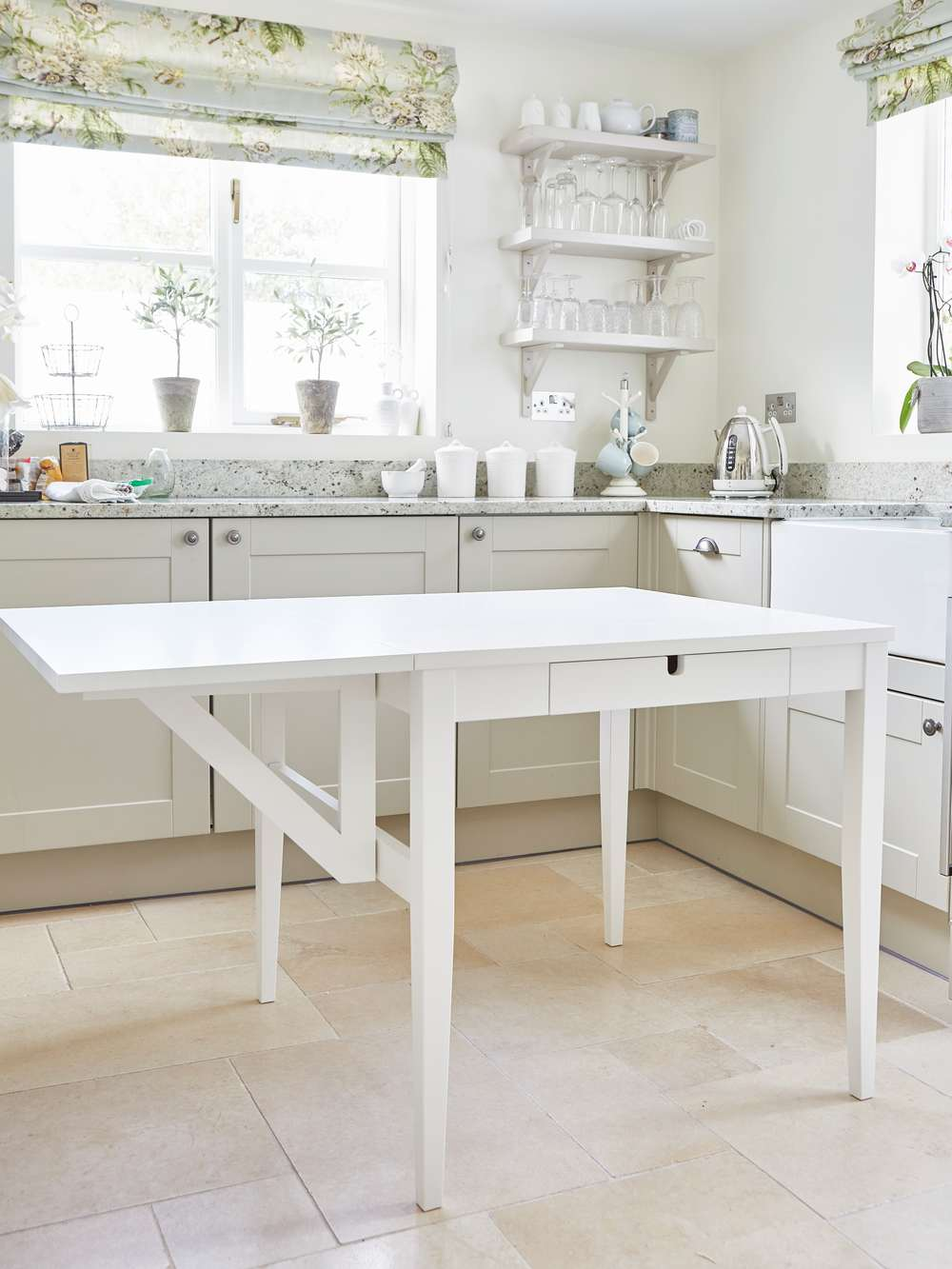 Drop Leaf Table With Drawers Scandi Drop Leaf Table