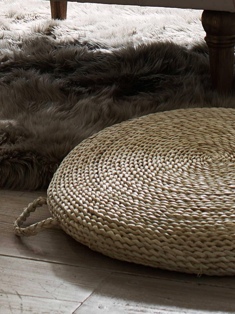 Seagrass Floor Cushion Woven Seagrass Floor Cushions
