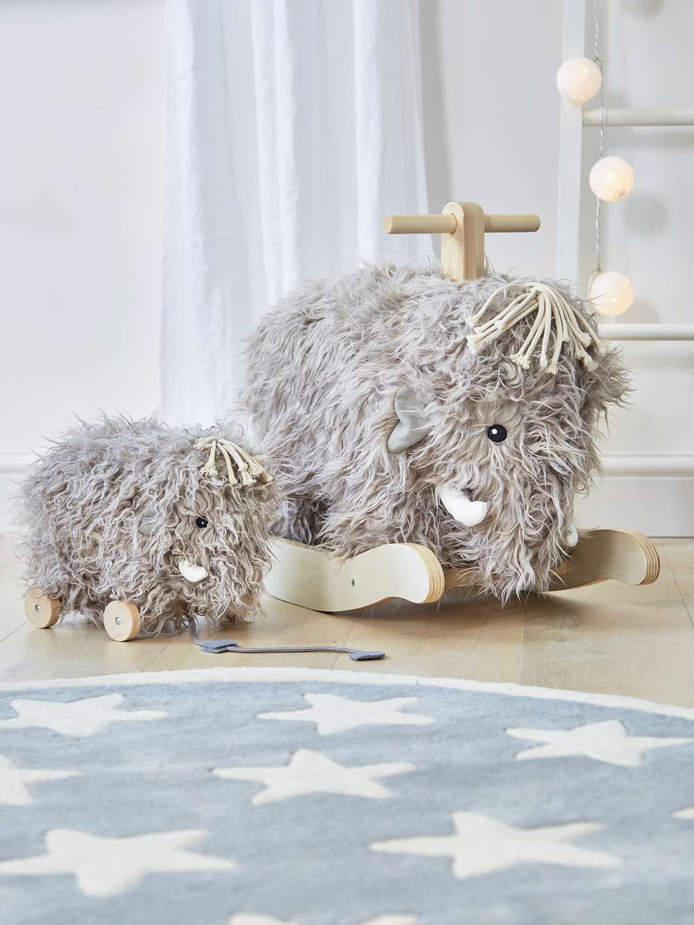 Woolly Pull Along Mammoth Woolly Mammoth Pull Along Toy