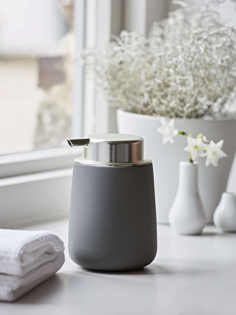 Grey Soap Dispenser Scandi Soap Dispenser Nordic House