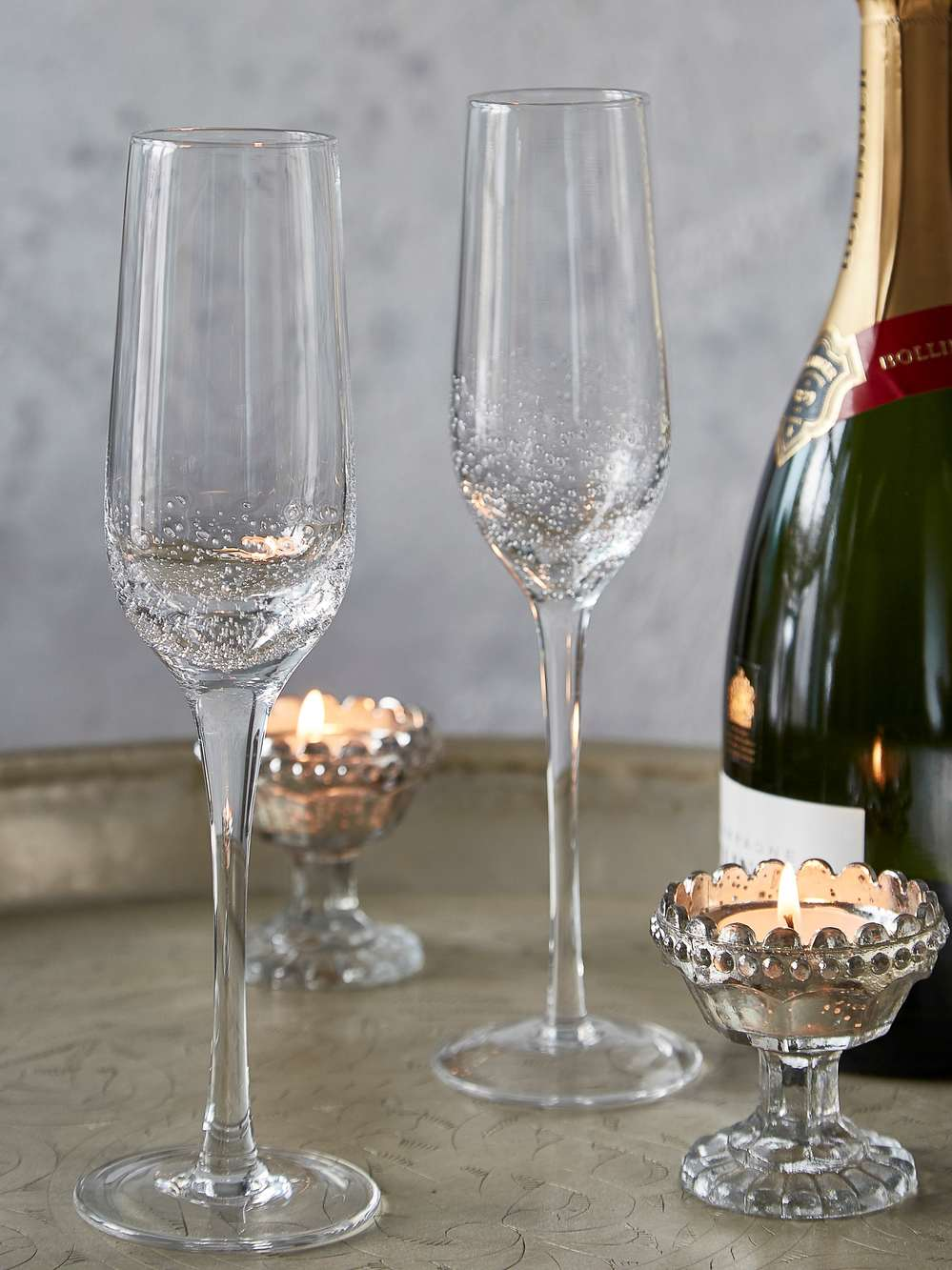 Champagne Bubble Glasses Scandi Champagne Glasses