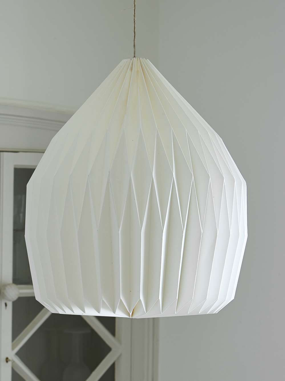 Paper Lampshades White White Scandi Lampshades Nordic