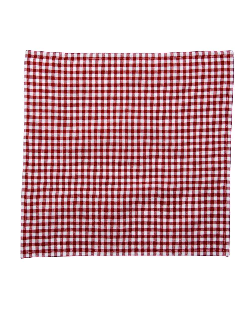 Red Gingham Table Linens Red Gingham Check Placemat