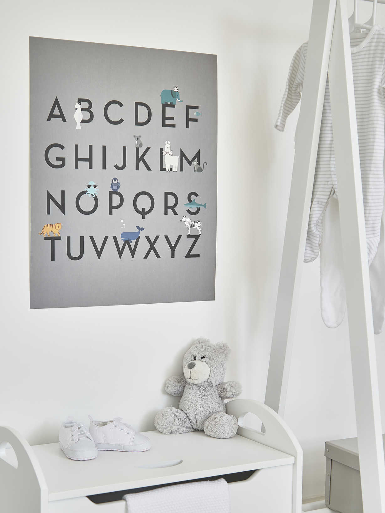 Nordic House ABC Kids Poster