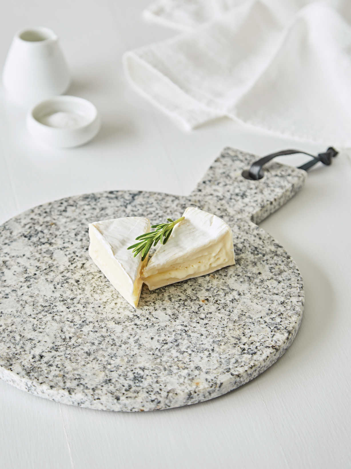 Nordic House Round Granite Serving Board