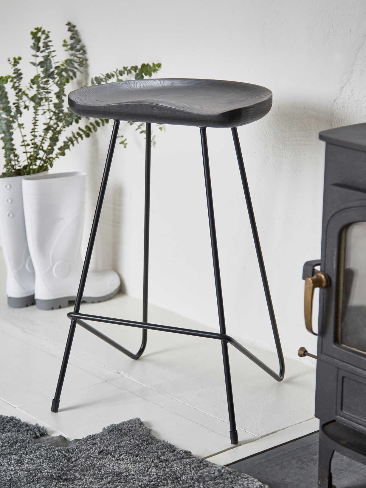 Nordic House Oskar Bar Stool