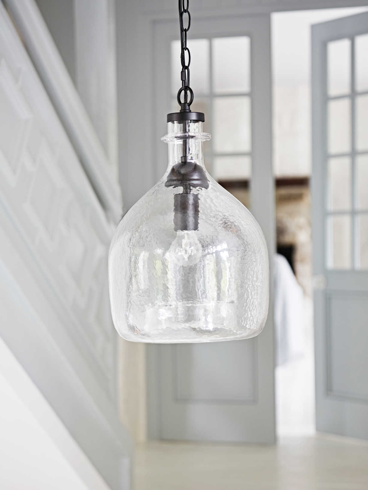 Nordic House Textured Glass Pendant Lamp