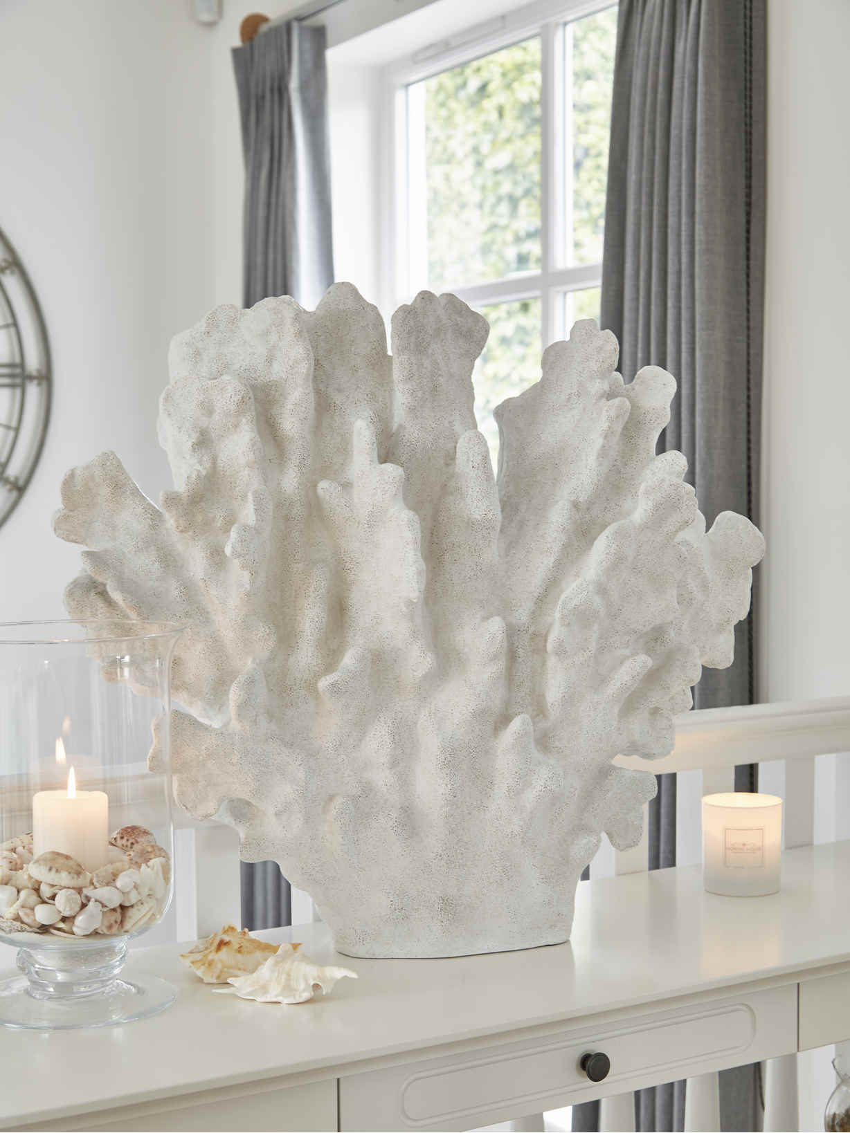 Nordic House Extra Large Coral Centrepiece
