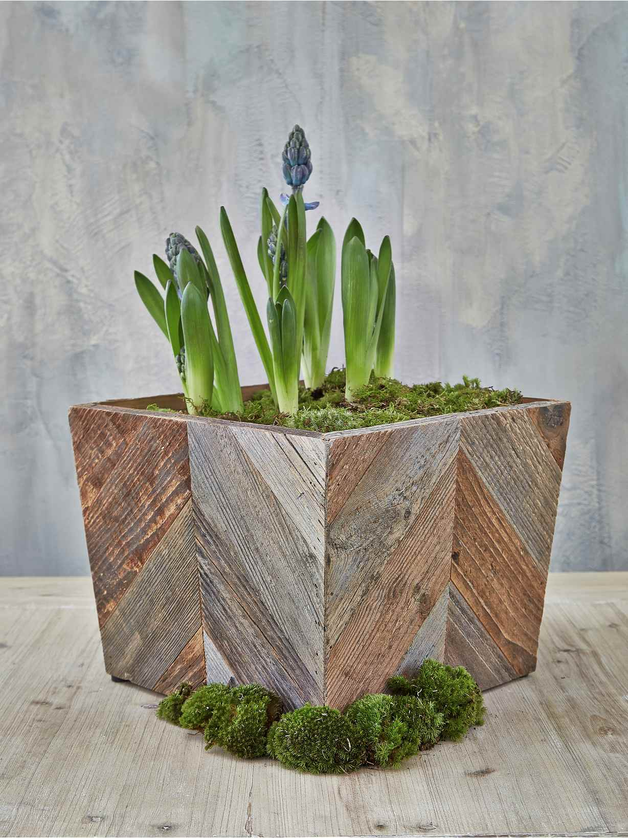Nordic House Reclaimed Wood Planter