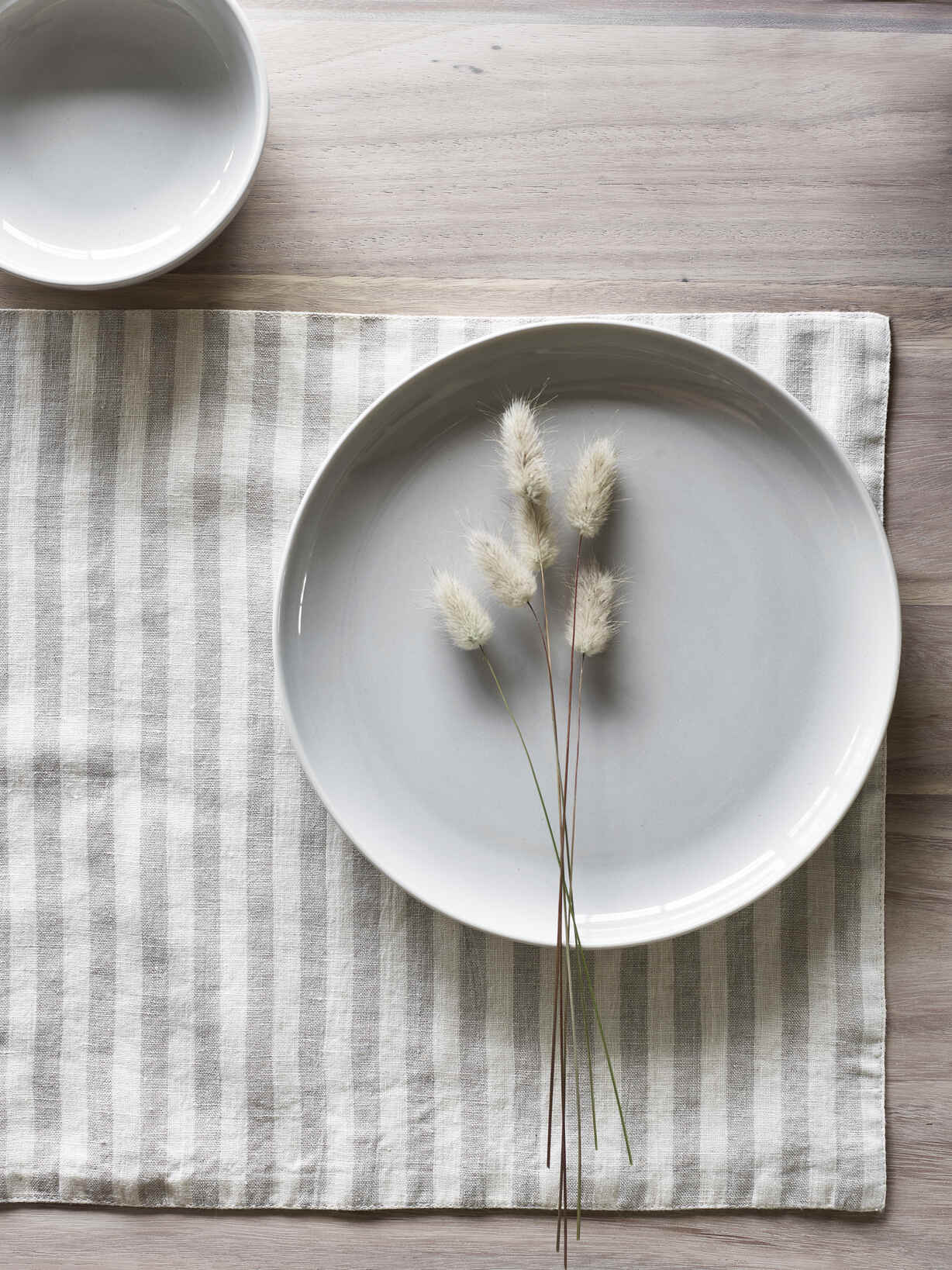 Nordic House Natural Stripe Placemats