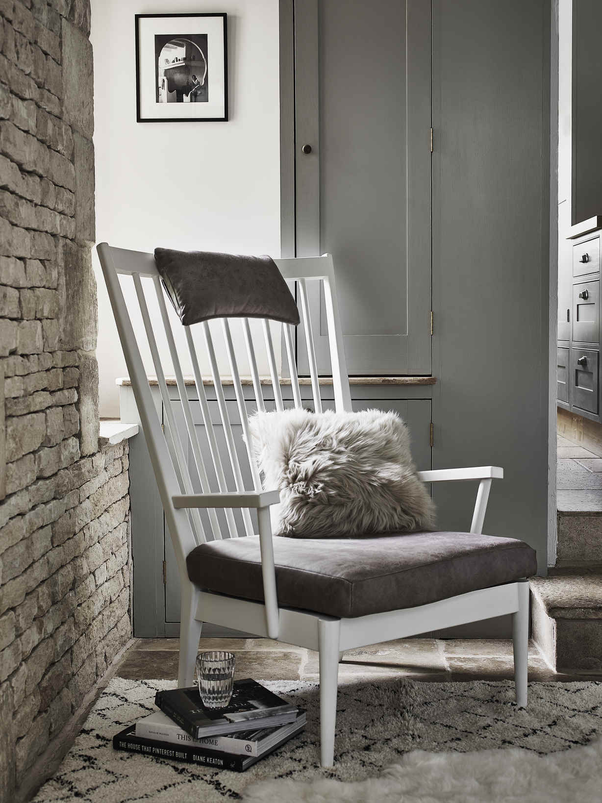 Nordic House Lotta Chill-Out Chair - White