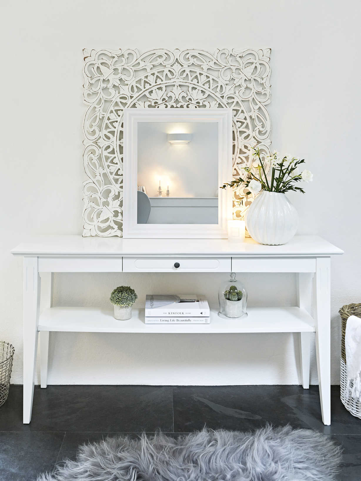 Nordic House Nordin Console Table