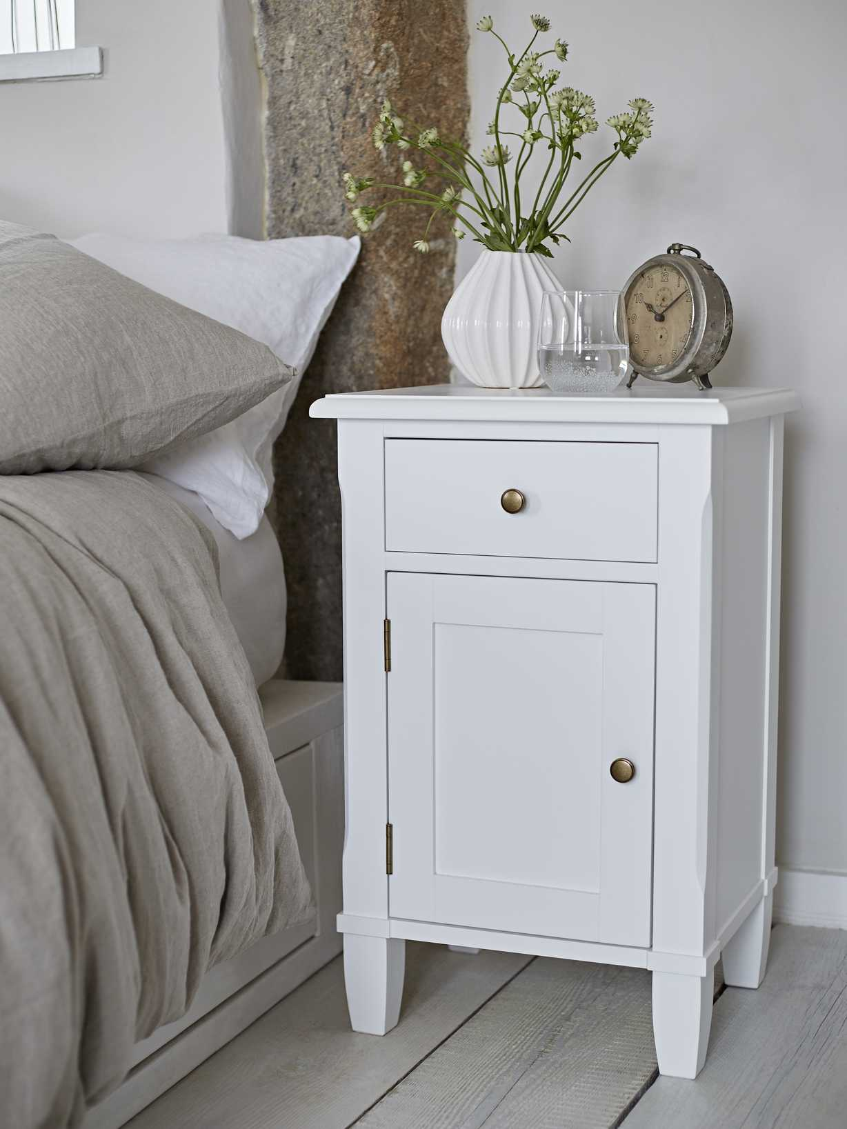 Nordic House Linus Bedside Table Set